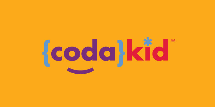 Logo design for CodaKid, a kids online coding company based in Phoenix, AZ