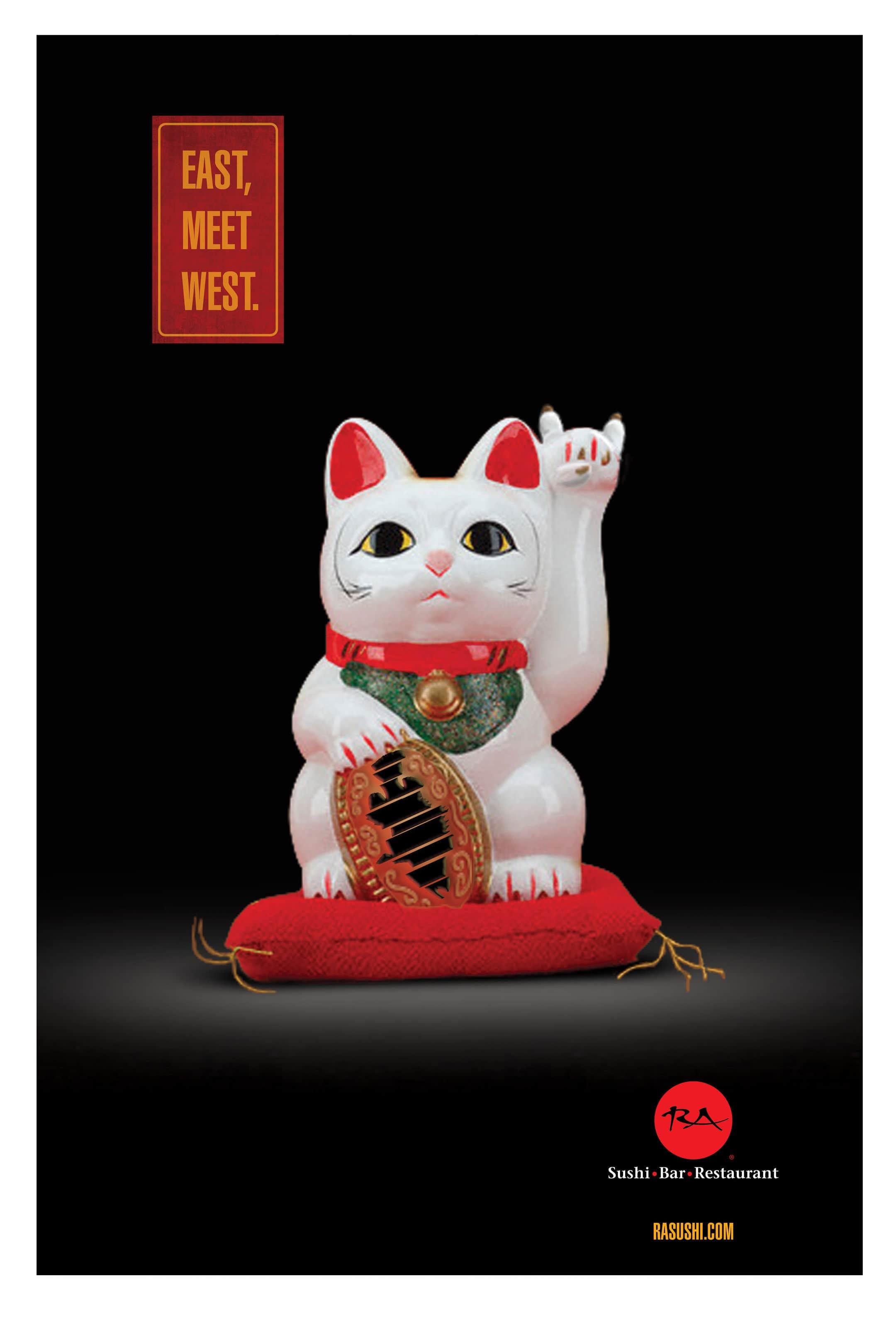 RA Sushi branding — advertising design