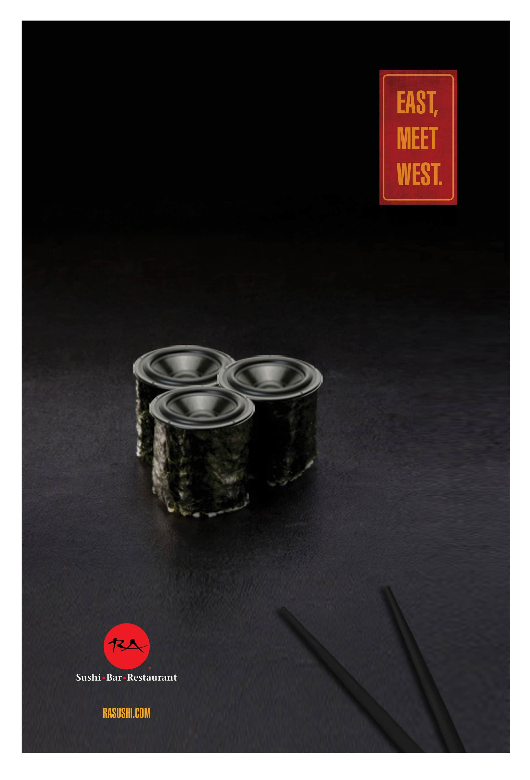 RA Sushi Branding: Advertising Design