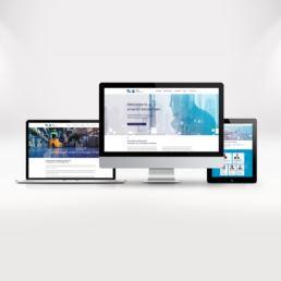 Startup branding - Sky Republic - Responsive website design